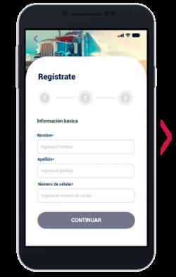 Registro plataforma paso 3